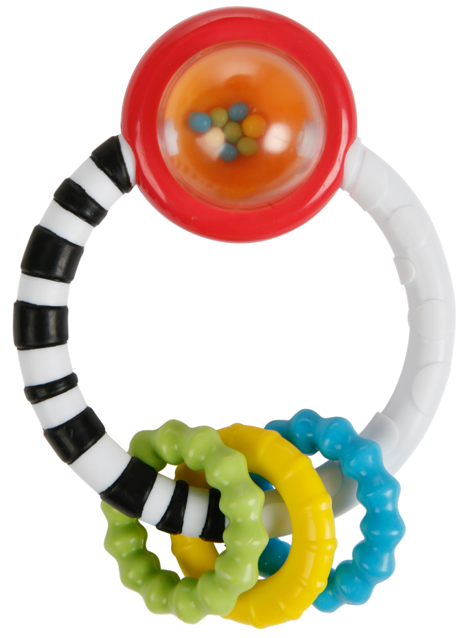Jucarie New Rattle A Round Bright Starts