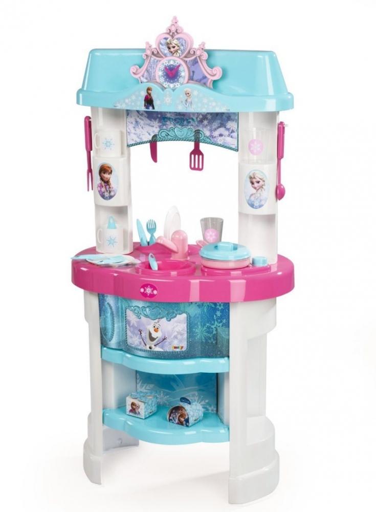 Bucatarie Disney Frozen cu accesorii Smoby