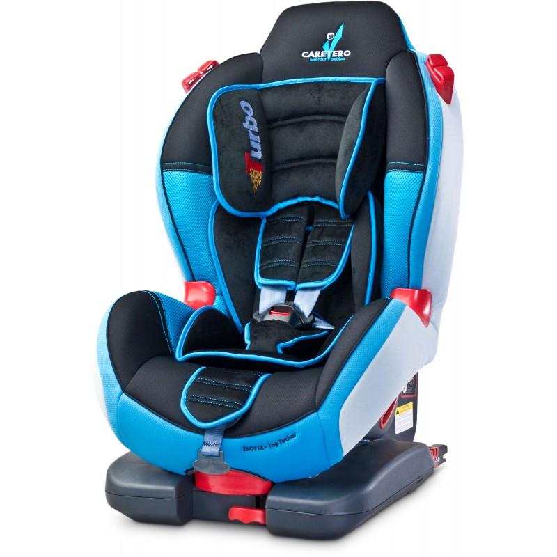 Scaun auto Caretero Sport Turbofix Isofix 9-25 Kg Blue
