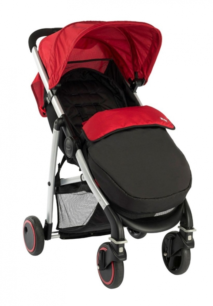 Carucior Blox Pop Red cu Junior Baby Sport Luxe