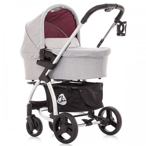 Carucior Chipolino Avenue 2 in 1 burgundy 2016