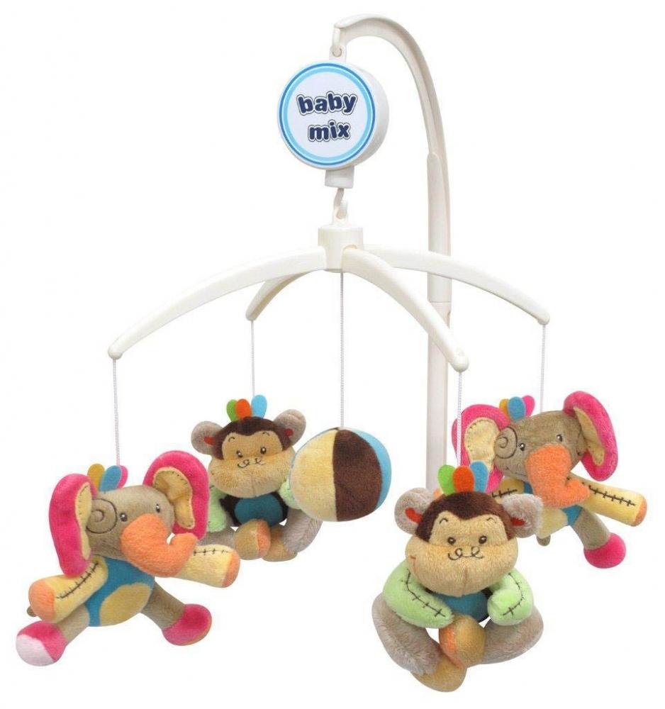 Carusel muzical Elephant Monkey