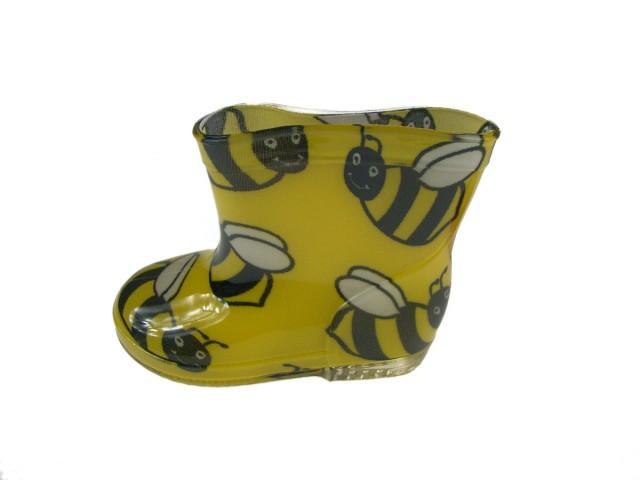 Cizme ploaie copii culoare galben (Masura 24)