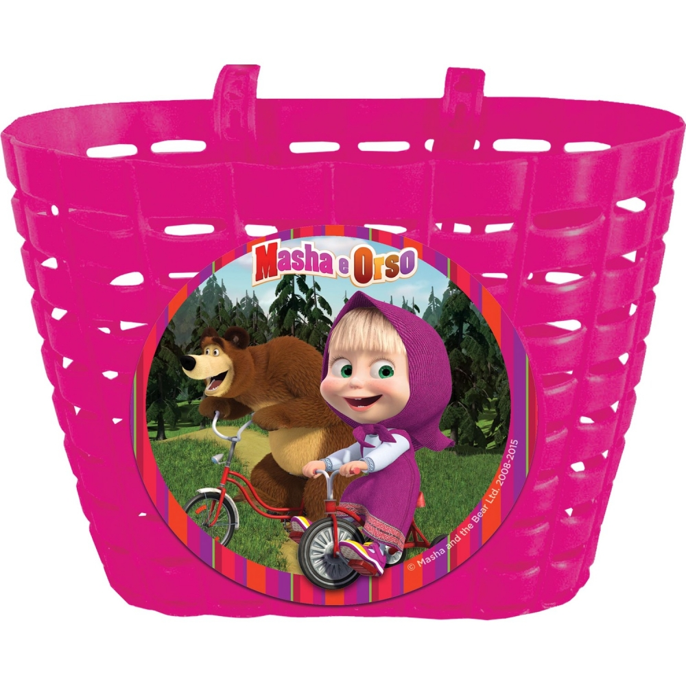 Cos bicicleta Masha and The Bear Eurasia E80213