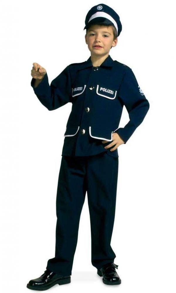 Costum pentru serbare Politist 128 cm