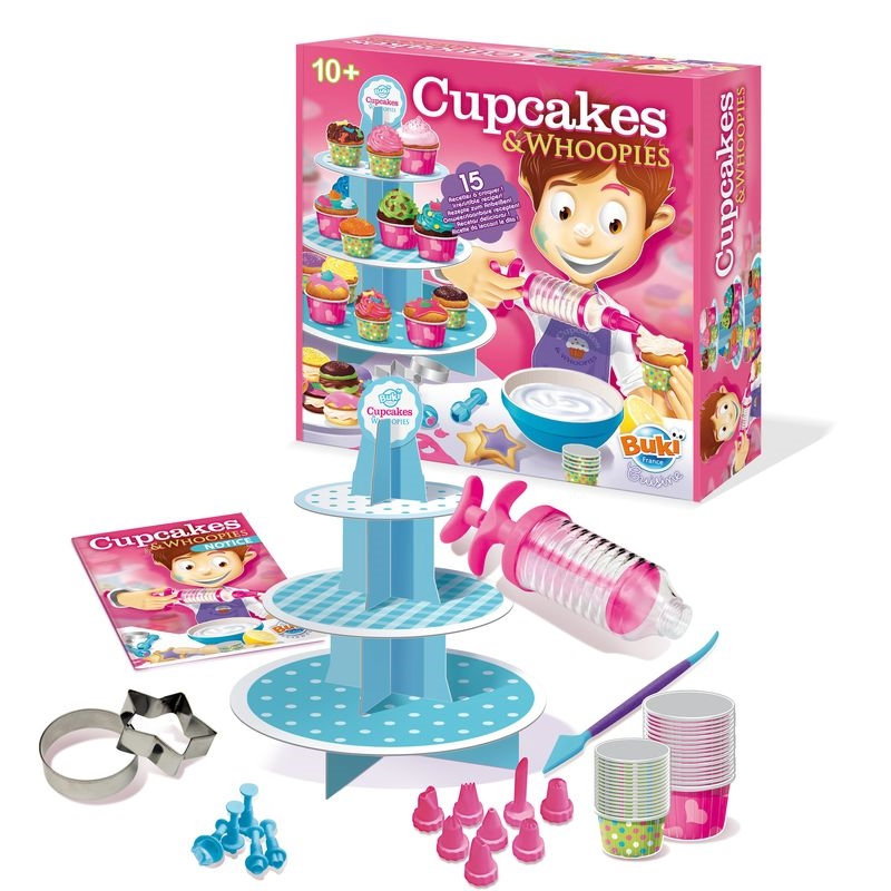 Cupcakes  Whoopies - 15 retete si accesorii pentru prajituri