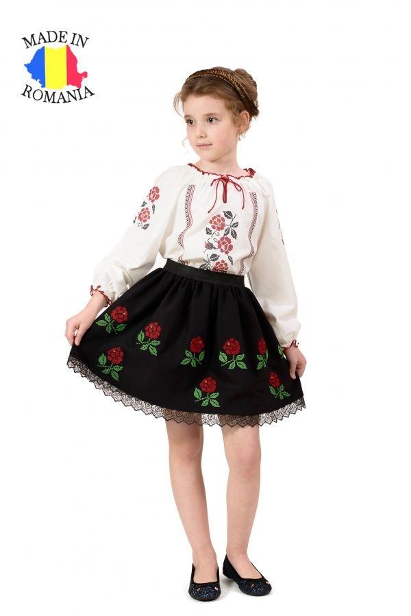 Fusta fetite Trandafir Moldovenesc Elfbebe