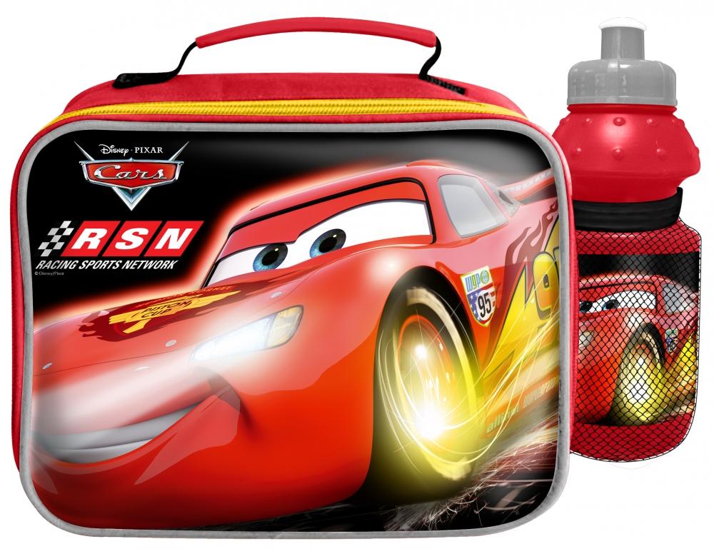 Gentuta Izoterma Cars pentru alimente cu sticla de apa
