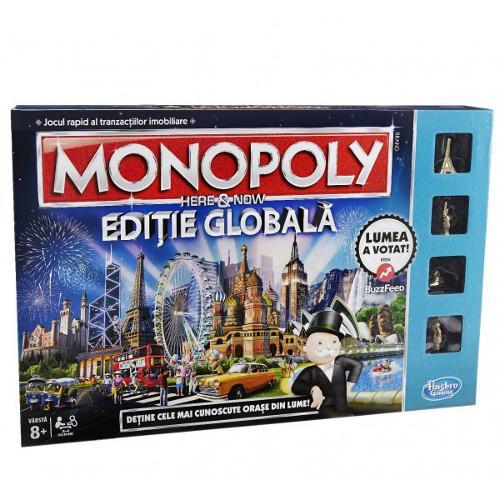 Joc de Societate Monopoly Here and Now