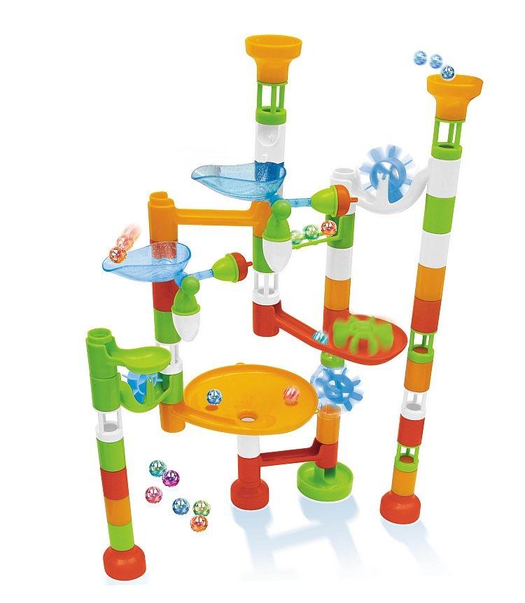 Joc de constructie  labirint cu bile - 80 piese