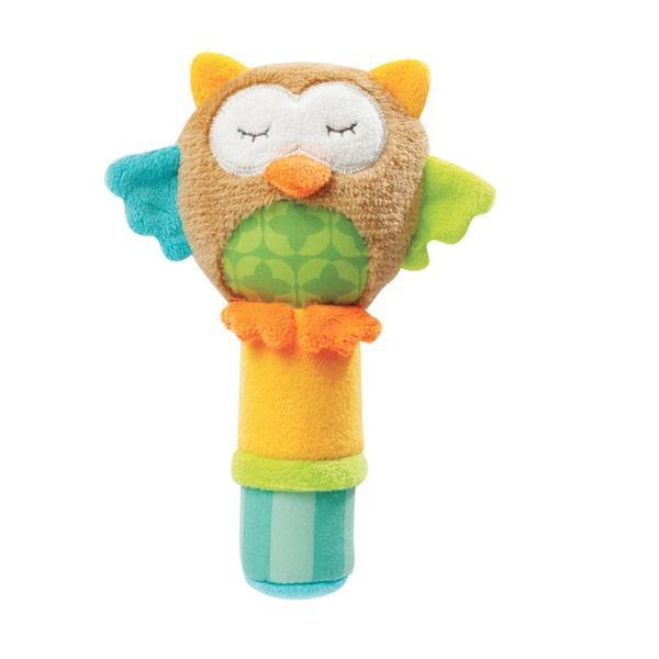 Jucarie muzicala Popice Bufnita - Brevi Soft Toys