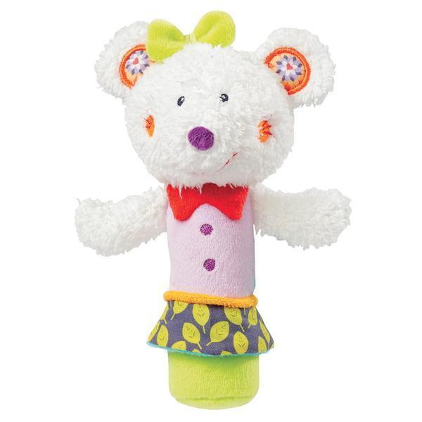 Jucarie muzicala Popice Soricelul Fluo - Brevi Soft Toys