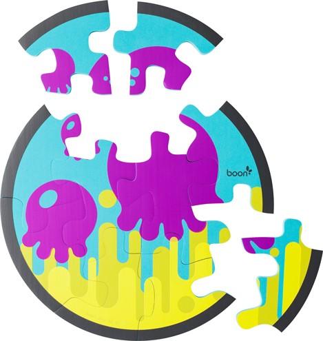 Jucarie PIECES - puzzle din spuma pentru baie