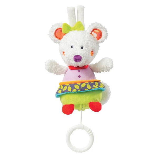 Jucarie muzicala Soarece - Brevi Soft Toys