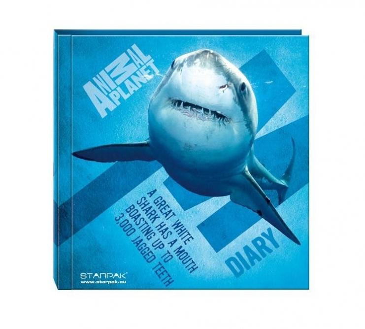 Jurnal cu lacat Animal Planet 13.5x13.5 cm