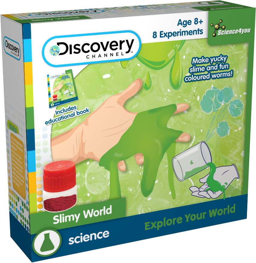 Kit experimente - Substante gelatinoase