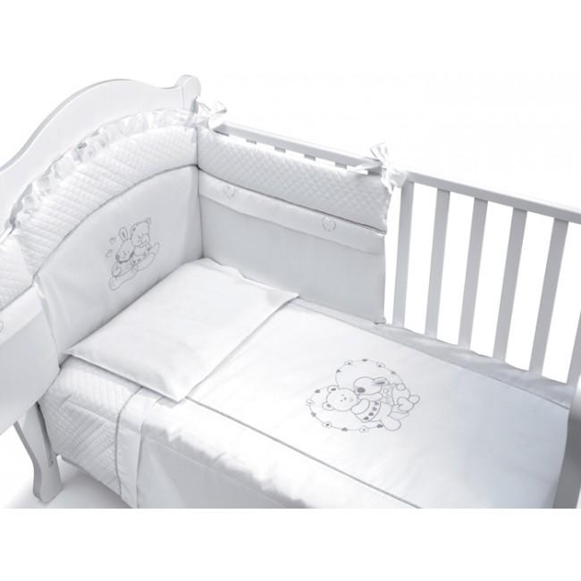Lenjerie 3 piese Incanto White Baby Italia