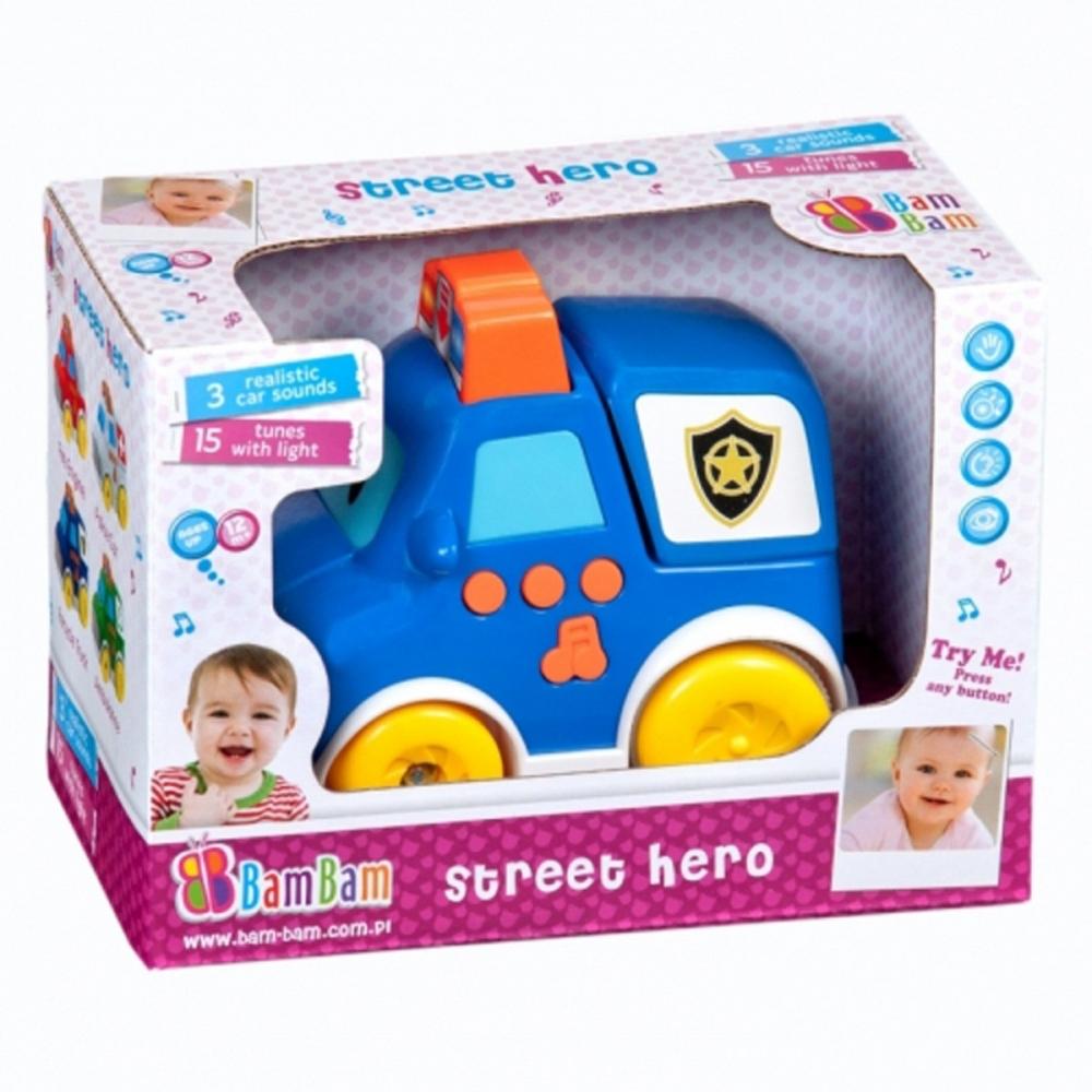 Masinuta de politie muzicala