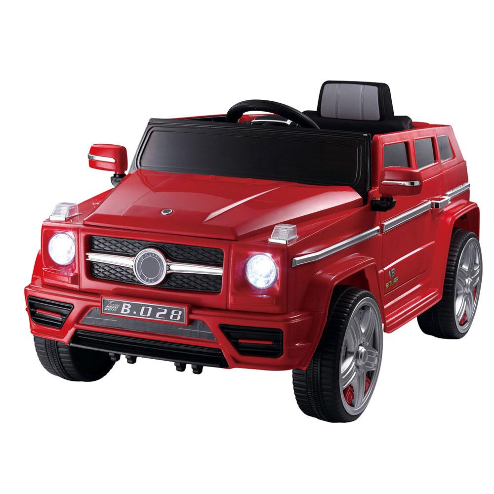 Masinuta electrica cu telecomanda V8 Turbo Red