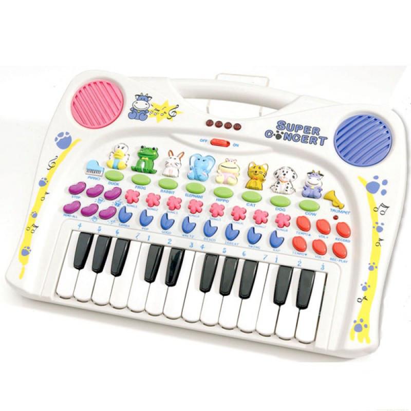 Orga muzicala cu 24 clape si sunete de animale