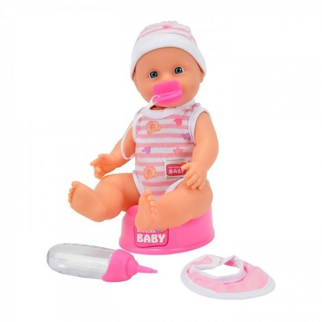 Papusa Baby New Born Baby Darling cu olita si accesorii