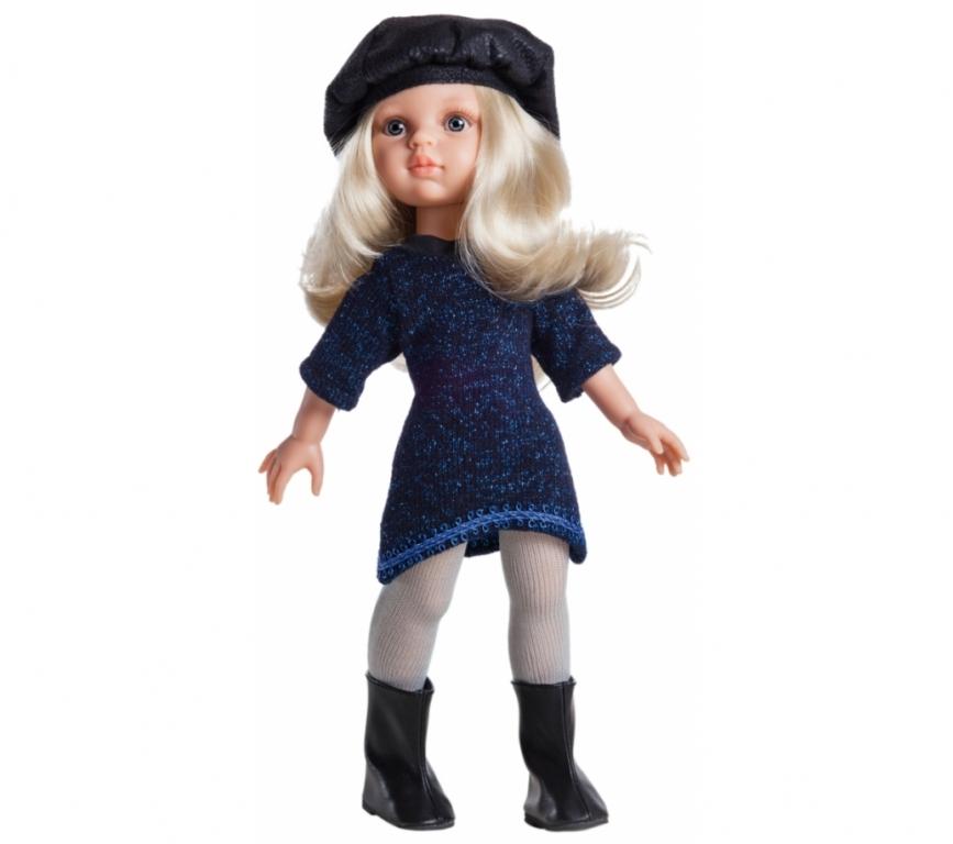 Papusa Claudia in rochie de tricot cu lurex - Paola Reina