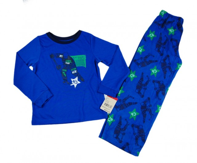 Pijama baieti Cool Dudes (Masura 116 (5-6 ani))
