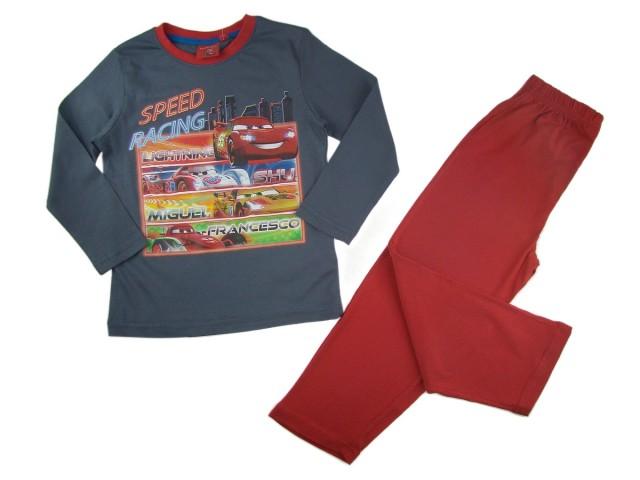Pijama baieti Disney Fulger McQueen (Masura 128 (7-8 ani))