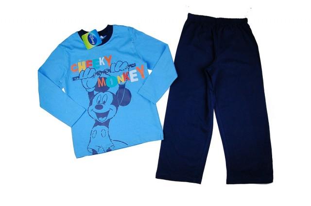 Pijama baieti Mickey Mouse (Masura 128 (7-8 ani))