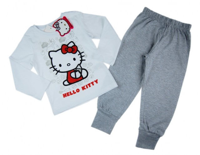 Pijama cu Hello Kitty (Masura 128 (7-8 ani))