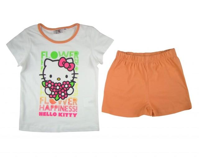 Pijama fete Hello Kitty (Masura 128 (7-8 ani))