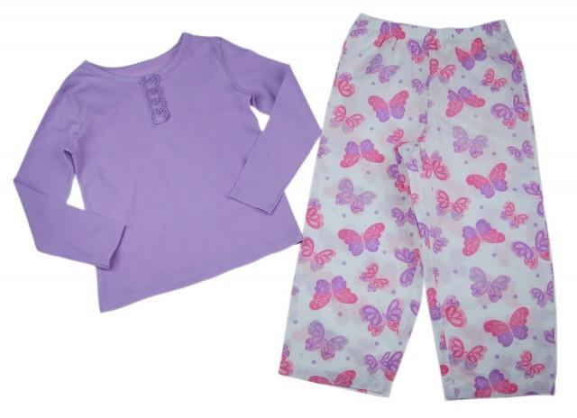 Pijama fetite Butterfly (Masura 92 (1.5-2 ani))