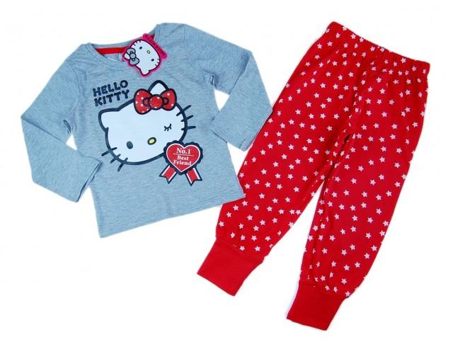 Pijama originala Hello Kitty (Masura 116 (5-6 ani))