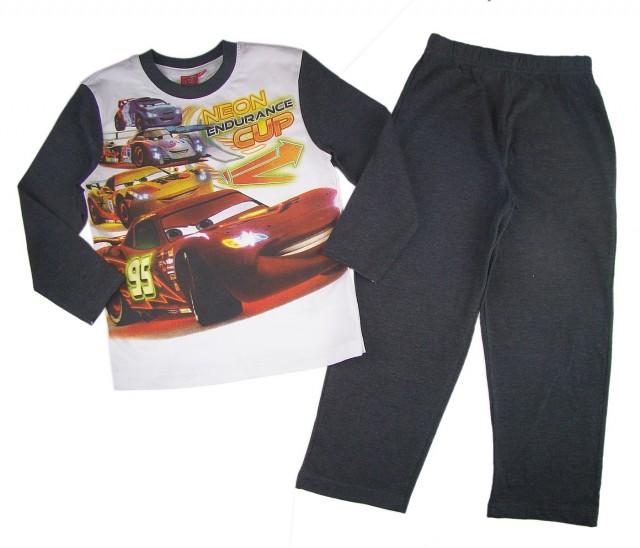 Pijamale baieti Disney Cars Neon (Masura 116 (5-6 ani))