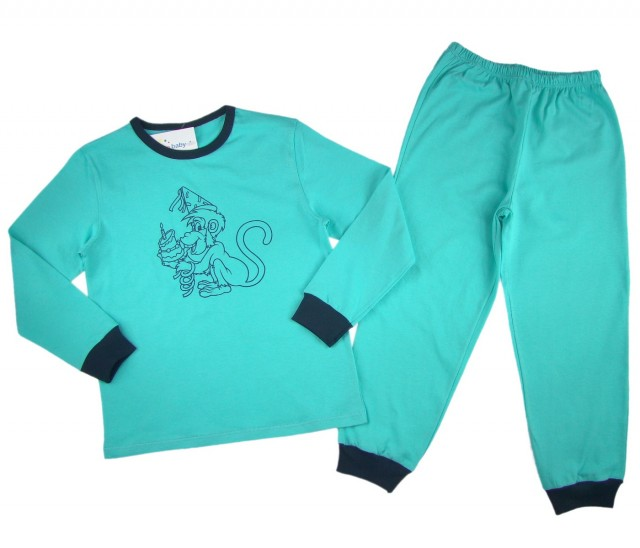 Pijamale copii Party Monkey (Masura 128 (7-8 ani))