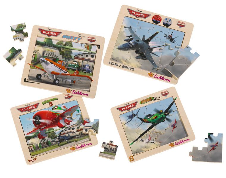 Puzzle din lemn Planes