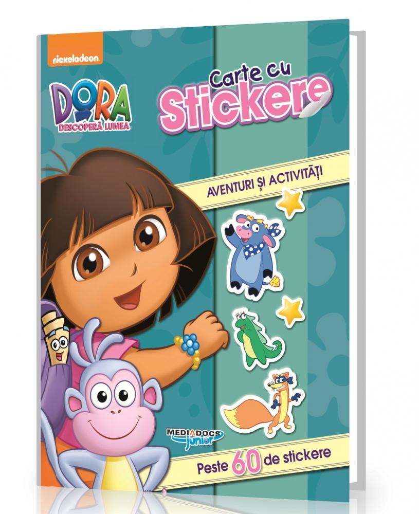 Sa ne jucam cu stickere Dora