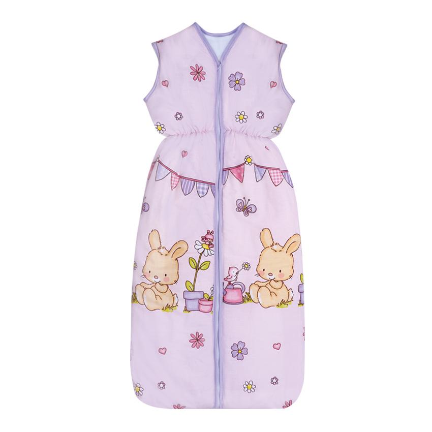 Sac De Dormit De Vara 95 Cm Bunnies Pink