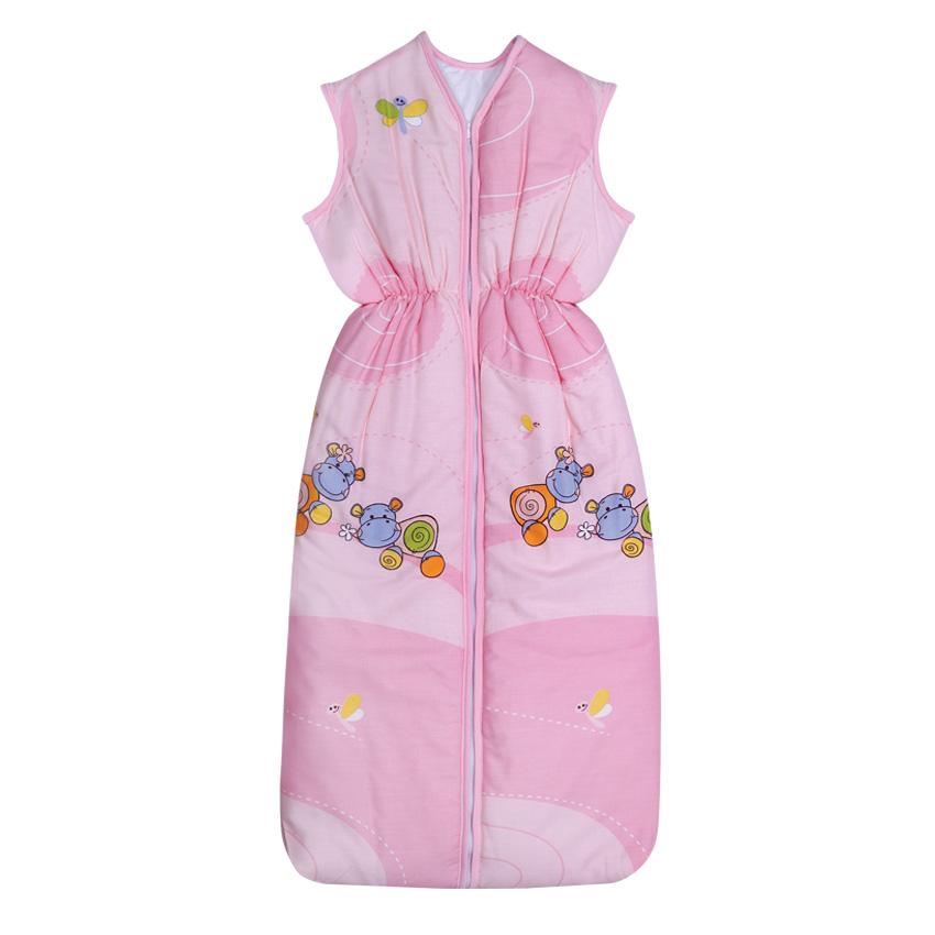 Sac De Dormit De Vara 95 Cm Hippo Pink