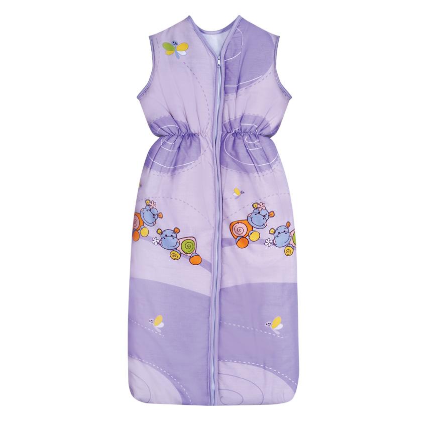 Sac De Dormit De Vara 95 Cm Hippo Violet