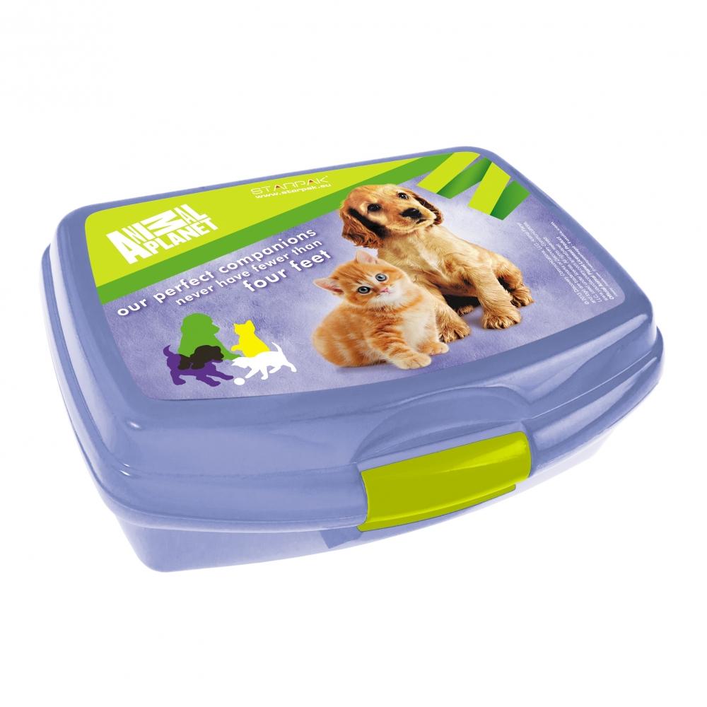 Sandwich box Animal Planet