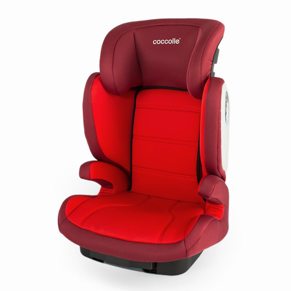 Scaun auto 15-36 kg cu Isofix Coccolle Exo-Fix Rosu