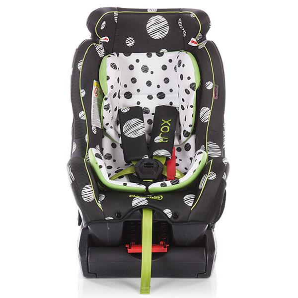 Scaun auto Chipolino Trax 0-25 kg dots black 2016