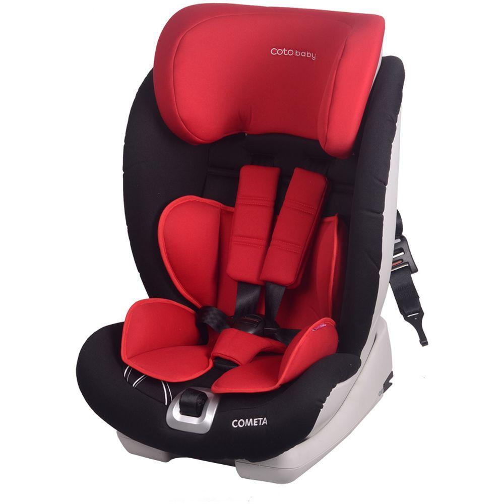 Scaun auto cu Isofix Cometa Coto Baby Rosu