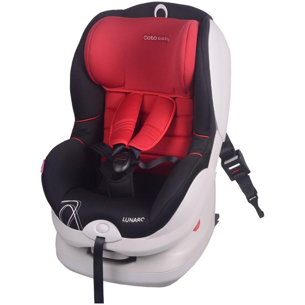 Scaun auto cu Isofix Lunaro Coto Baby Rosu