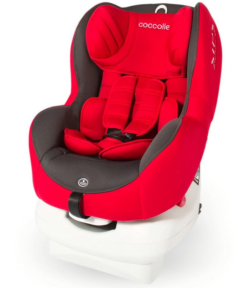 Scaun auto cu isofix Mira-Fix 0-18 kg Red