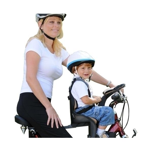 Scaun de bicicleta Deluxe si Casca protectie Flames Albastru WeeRide WR03A