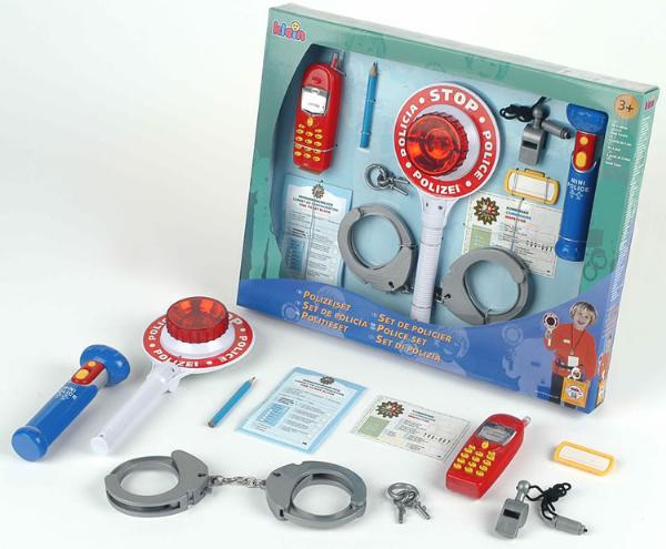 Set 10 accesorii politie
