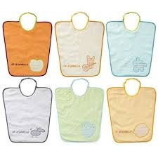 Set 3 bavete 35x38 cm Baby Calin
