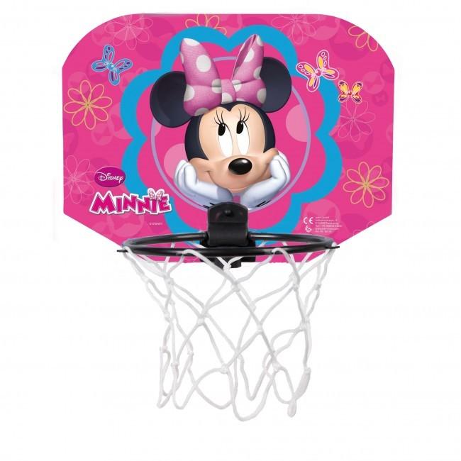 Set Baschet Minnie Mouse 30x22.5 cm cu minge soft 100mm